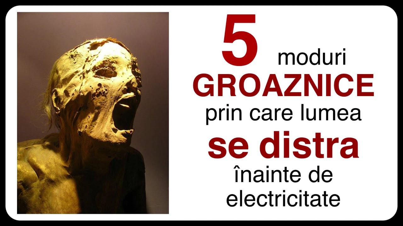 5 moduri GROAZNICE prin care lumea se distra înainte de electricitate