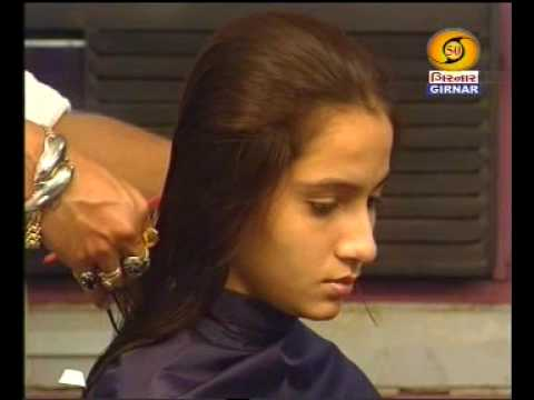 indian girl long to short bob  youtube