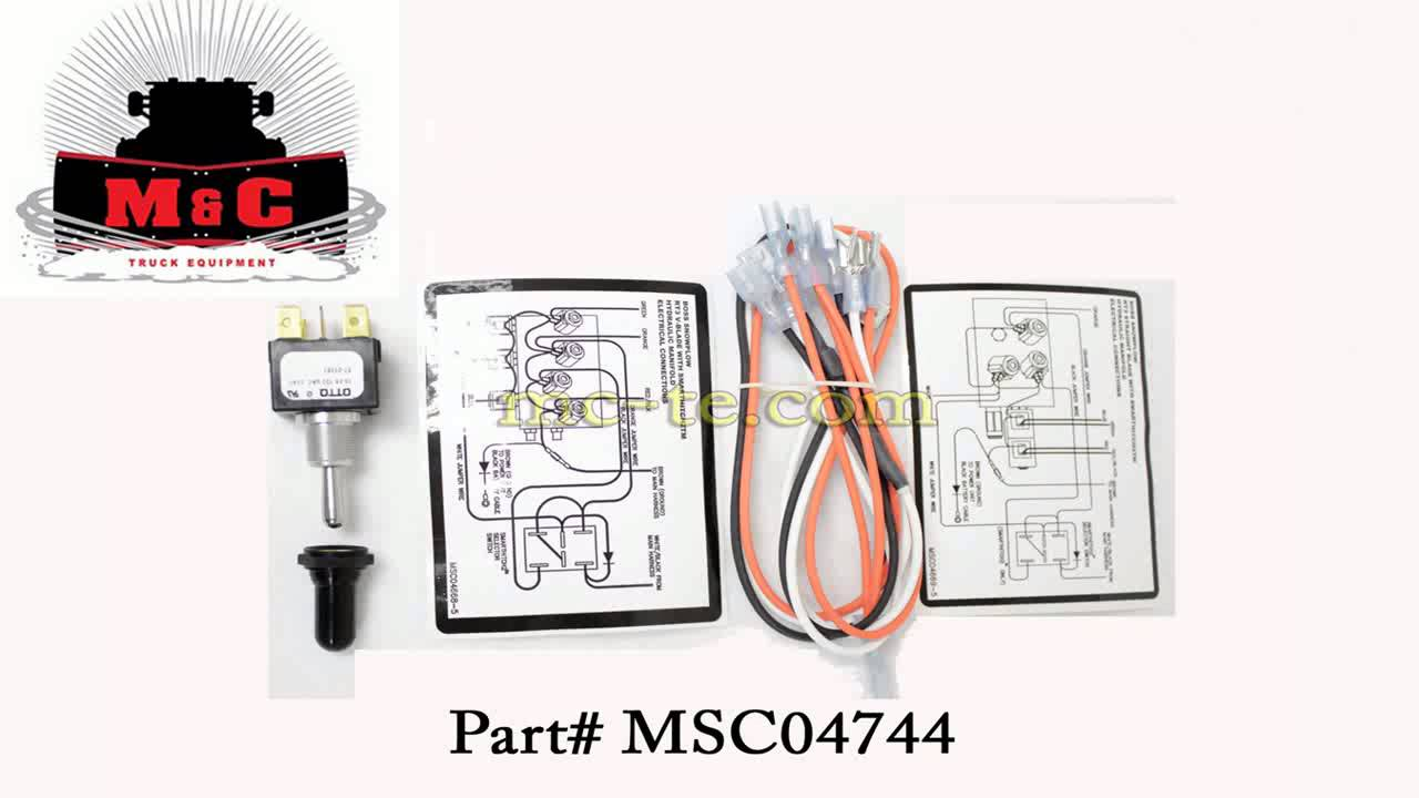 Hitch Wiring Diagram Three Way Dimmer Boss Plow Part Msc04744 Toggle Switch Kit Smarthitch 2 - Youtube