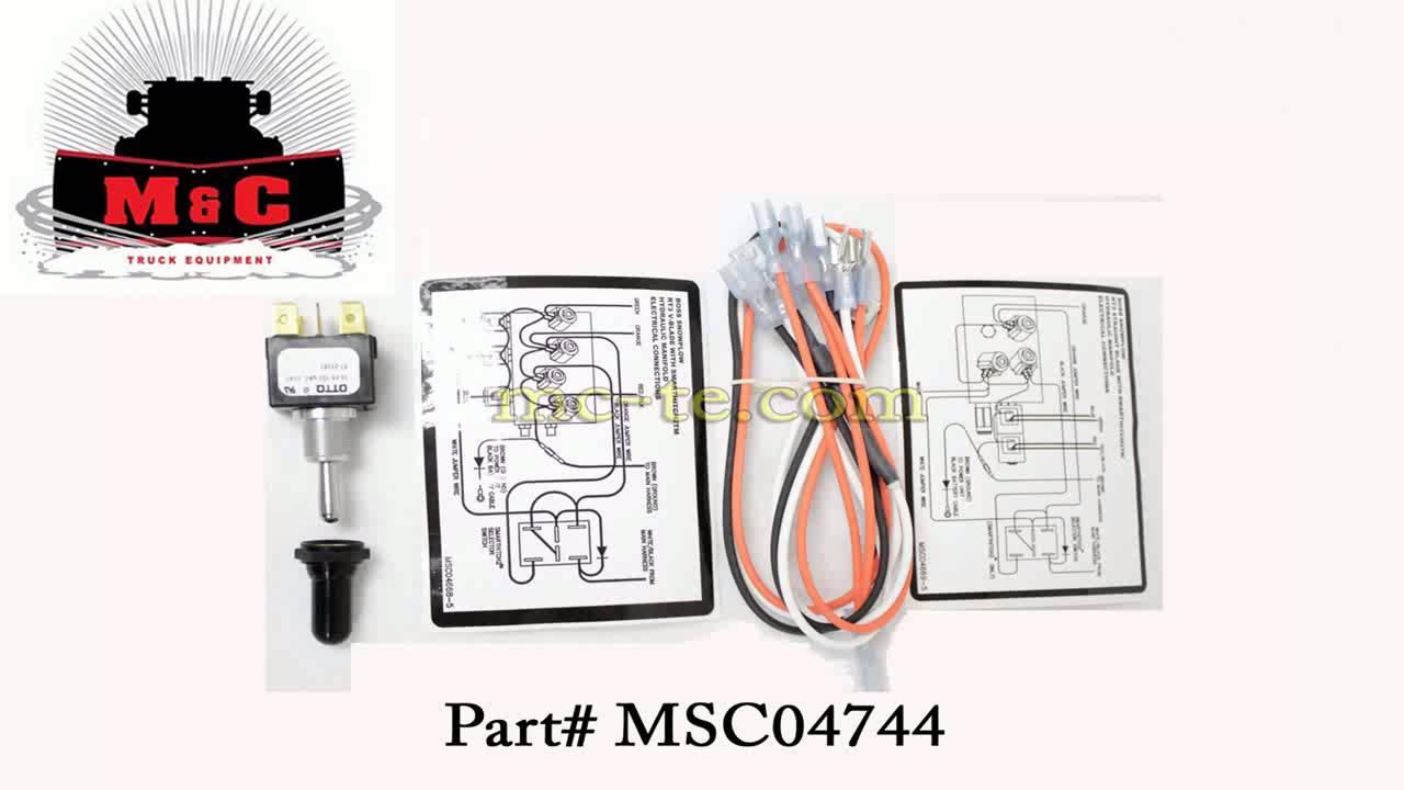 Boss Plow Part MSC04744 Toggle Switch Kit Smarthitch 2