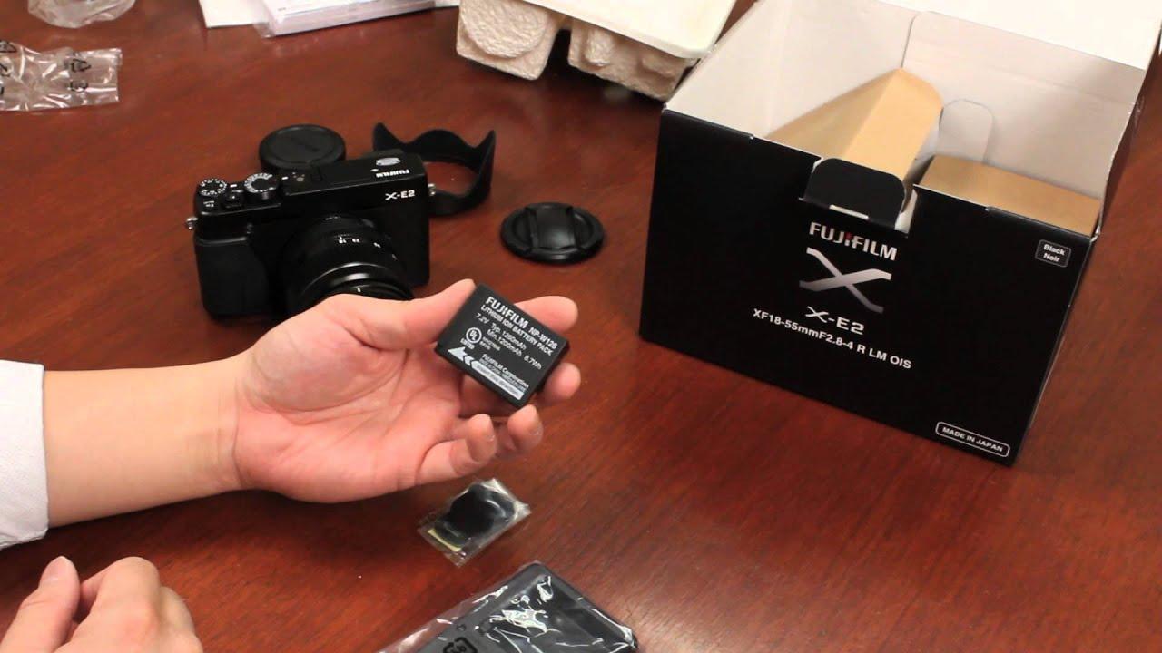 Fuji Guys Fujifilm X E2 Unboxing Getting Started Youtube E3 Kit Xf 18 55mm F 28 4 R Lm Ois Silver