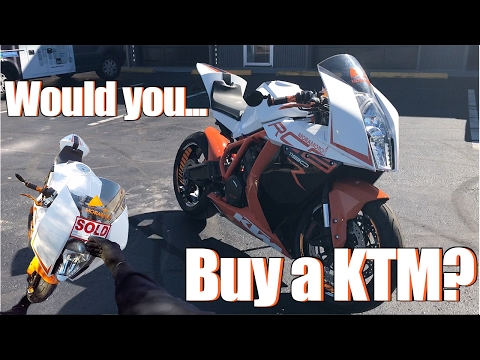 BUY IT? KTM RC8 R Test Ride + Review