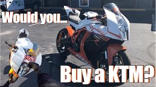 BUY IT? KTM RC8 R Test Ride + Review