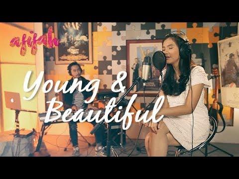 Cover Lagu YOUNG & BEAUTIFUL (Cover Lana Del Rey) - Afifah feat Jeje GOVINDA HITSLAGU