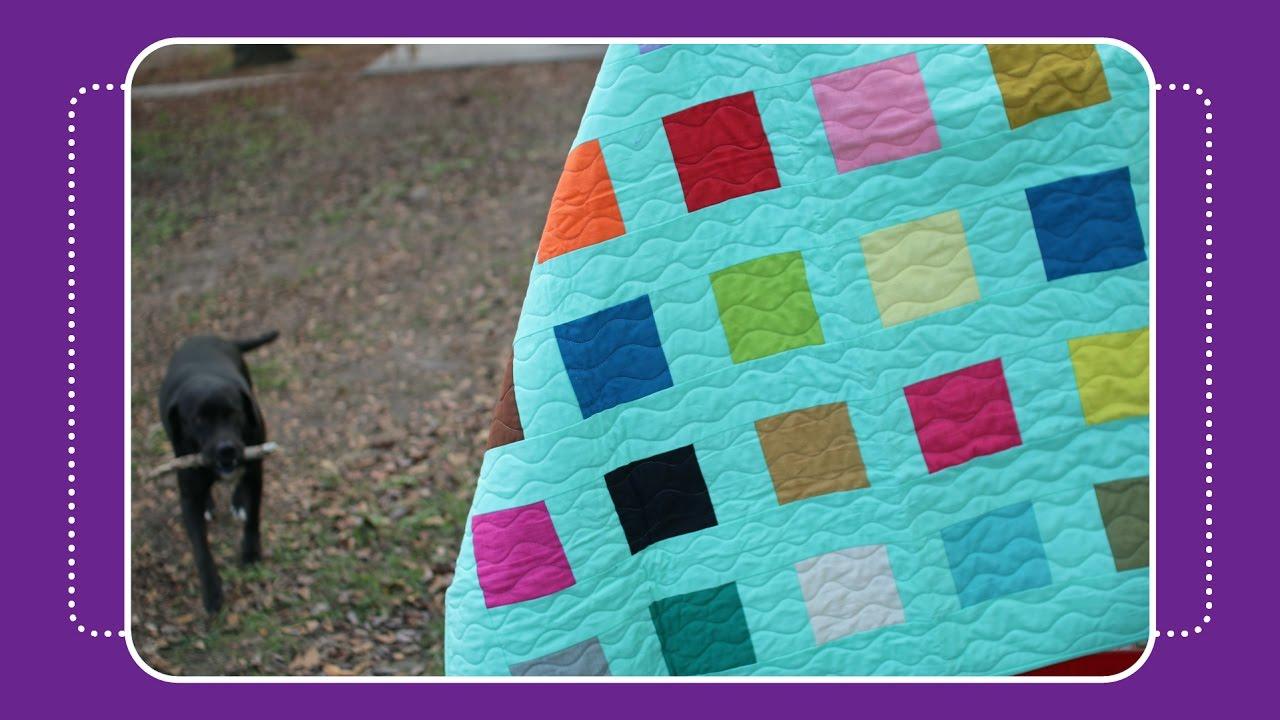 Confetti Charm Quilt Tutorial by Crafty Gemini