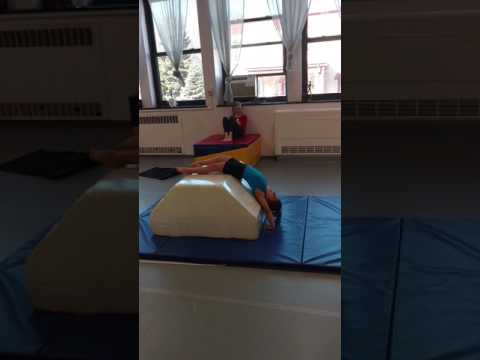 Pre Primary Acro Star in the making! Kenwood School of Ballet