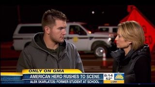 Train Hero Alek Skarlatos Leaves DWTS After Oregon Shooting at His College