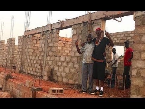 JT the Bigga Figga tours Africa and continues building his school in Burkina Faso