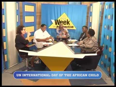 THIS WEEK IN PERSPECTIVE ON UN CHILD INTERNATIONAL DAY