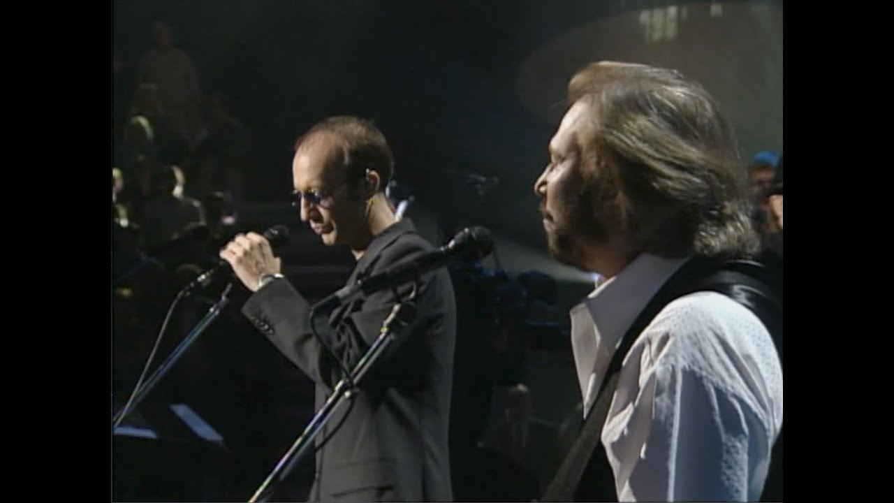 Bee Gees Alone Live In Las Vegas 1997 One Night Only Youtube