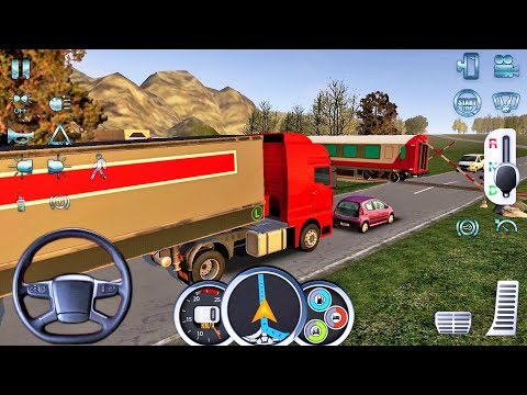 Euro Truck Driver 2018 #6 New Truck Game Android gameplay
