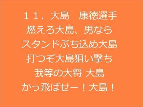 大島康徳選手 応援歌