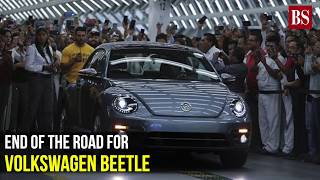 End of the road for Volkswagen Beetle