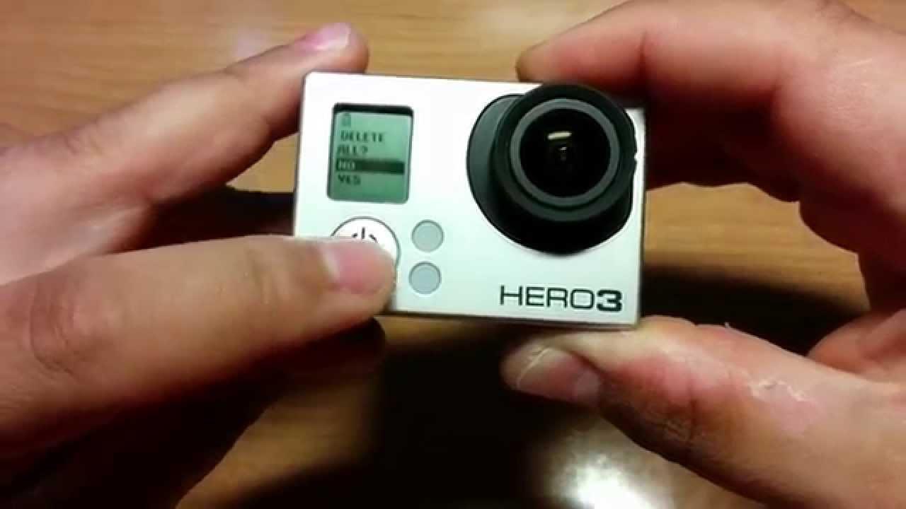 gopro hero 3 tarjeta de memoria