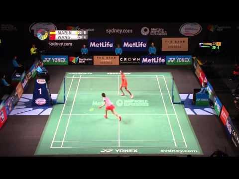 Badminton 2015 | Carolina Marin vs Wang Shixian