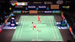Badminton 2015 | Carolina Marin vs Wang Shixian