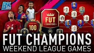*LIVE* CAN WE GET ELITE??? WEEKEND LEAGUE Games!!! TOTS FUT Champs Rewards - FIFA 19 RTG #129