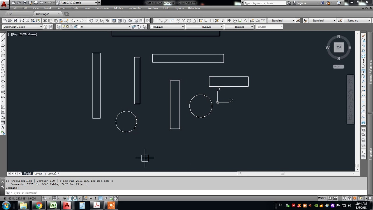 How to Calculate the Area in AutoCAD Download Free Lisp File Free Online  Training tutorial course cl