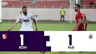 KUP SRBIJE: Radnički Niš - Partizan 1:1 | Pregled utakmice