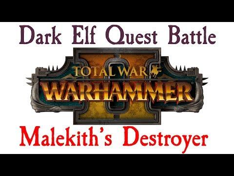 DARK ELF QUEST BATTLE! Malekith vs Tyrion for the Destroyer