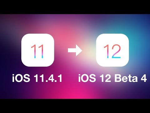 Download and Install iOS 12 Beta 4 without iTunes or Apple Developer Account