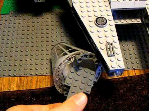 How to modify your cockpit in the lego 7965 millenium ...