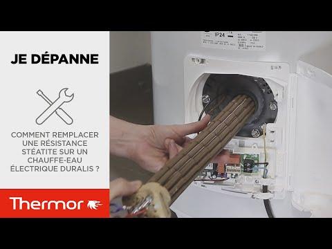 Comment Remplacer Une Resistance Steatite Sur Un Chauffe Eau Electrique Duralis Youtube