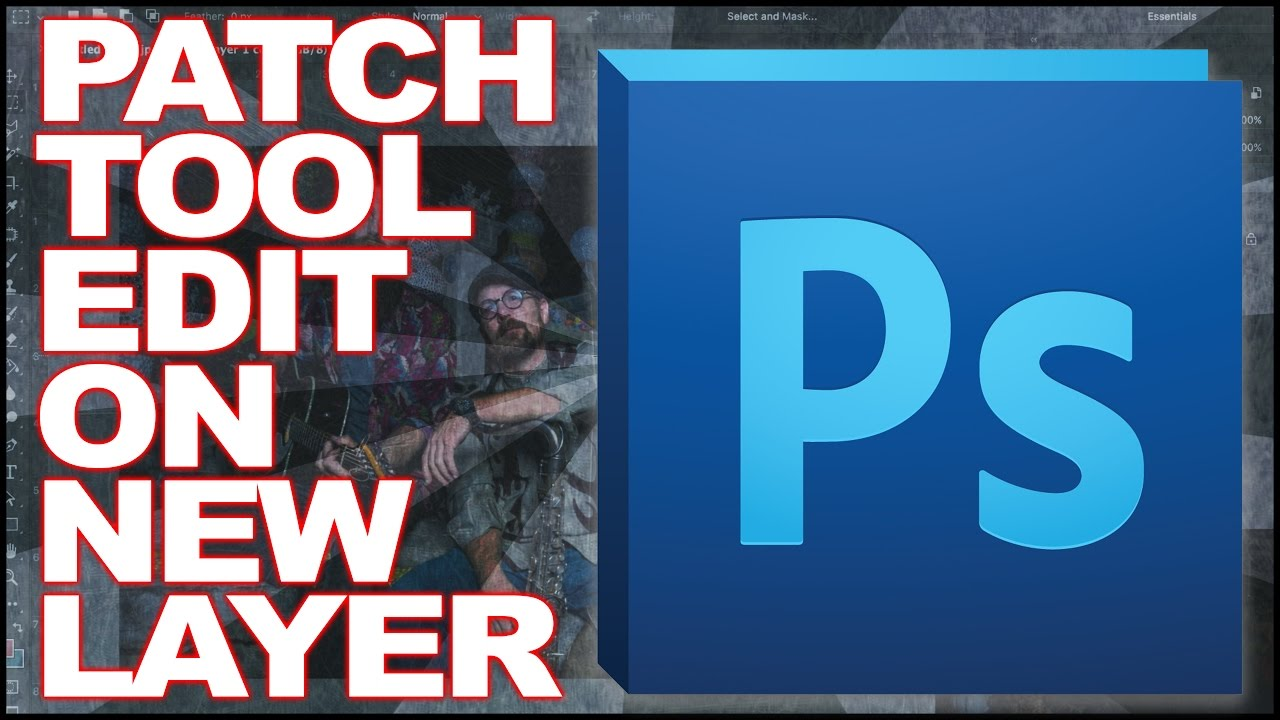 patch tool photoshop 2019