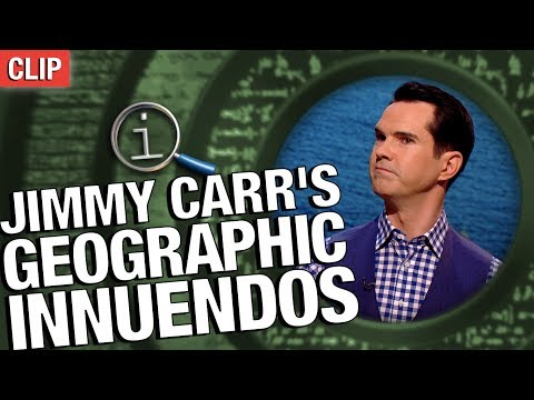 QI | Jimmy Carr's Geographic Innuendoes