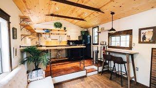 Absolutely Gorgeous The 12x32 Modern Farmhouse Adu For Sale | Lovely Tiny House