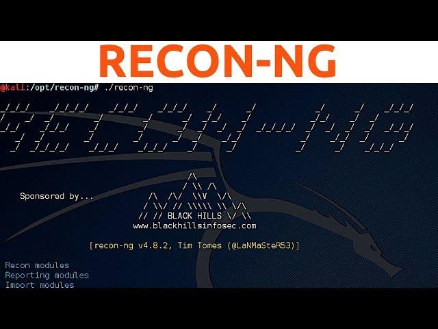 Recon-ng - Adding API Keys, Database Commands and Advanced Scanning