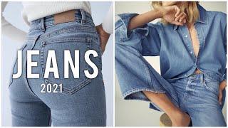 МОДНЫЕ ДЖИНСЫ 2021 Какие джинсы купить ГЛАВНЫЕ ТРЕНДЫ
