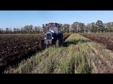 221. Трактор МТЗ в поле - YouTube