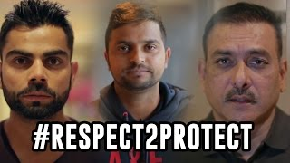 #Respect2Protect #ViratKohli #RaviShastri #SureshRaina speak about women abuse