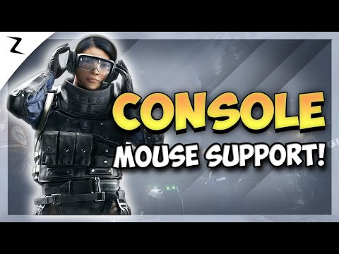 Console Keyboard And Mouse - Rainbow Six Siege
