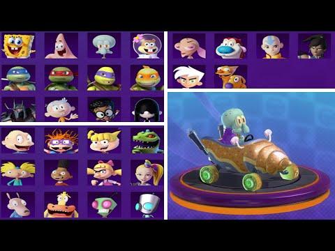 Garfield Kart Furious Racing All Characters Youtube