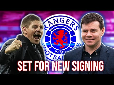 Rangers set to announce another new signing amid blizzard of agreements