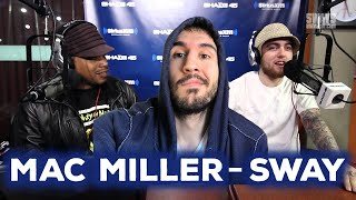 Mac Miller Almost-but-Not-Serious Freestyles over the 5 Fingers of Death | Sway's Universe REACTION