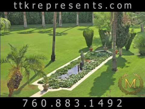 Celebrity Home Palm Springs | Celebrity Estates Palm Springs CA