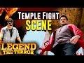 Legend The Terror - Hindi Dubbed Movie | Temple Fight Scene | Nandamuri Balakrishna | Radhika Apte