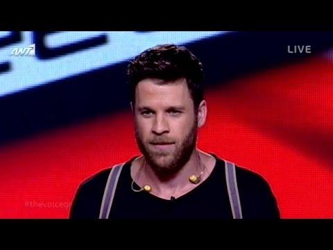 Άκης Παναγιωτίδης - Come together / Lose yourself | The Voice of Greece - 5th Live Show (S02E17)