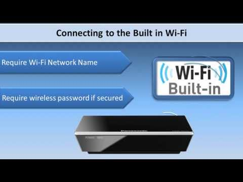 How to Set up and Connect Panasonic Streaming Media Player DMP-MS10 & DMP-MST60