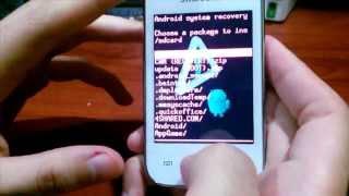 ROOT, UNROOT y Recovery: Cualquier Samsung Galaxy Y o Young, Explicado, Facil, Español / JHET
