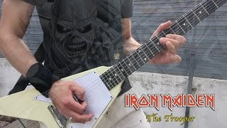 Iron Maiden - The Trooper (Intro guitar cover)