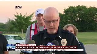 Sun Prairie explosion update -- Wednesday morning