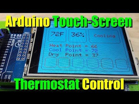 Arduino Touchscreen Thermostat Pt  1