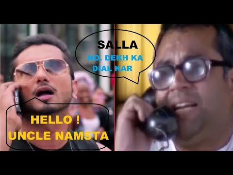 Paresh Rawal Funny Reaction on Honey Singh Phone Call