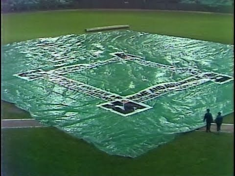 """WSNS Channel 44 - Chicago White Sox vs. Seattle Mariners - """"I Love a Rainy Delay"""" (Excerpt, 1980)"""