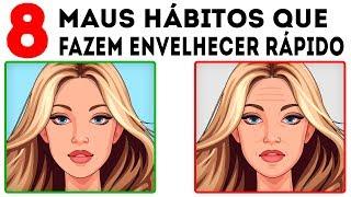 8 Maus Hábitos de Cuidado com a Pele que Fazem Você Parecer Mais Velha