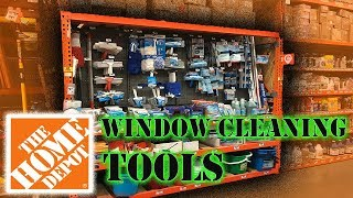 TOP 4 HOME DEPOT WINDOW CLEANING TOOLS